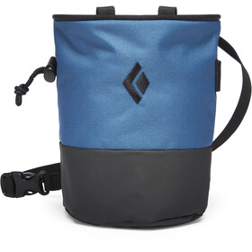Black Diamond Mojo Zip Chalk Bag S/M, astral blue-slate